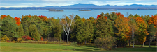 Autumn View of Four Brothers Islands - Willsboro NY