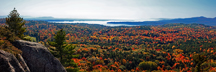 Northwest Bay from Coon Mt ~ Westport NY