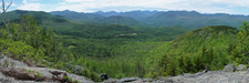 Southwest View of Adirondacks From Big Crow Mt.