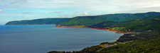 Pleasant Bay From Cabot Trail Overlook - NS