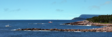 Lobstering Off Middle Head on Cabot Trail - NS