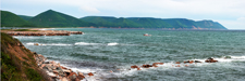 Entering Dingwell Harbor Along Cabot Trail - NS